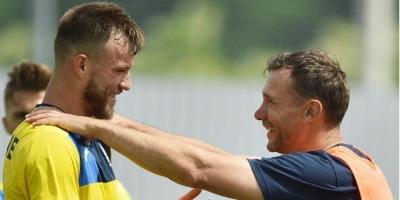 Зі збірної України по футболу виключили 5 гравців