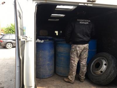 На Буковині податківці виявили партію нелегального спирту на 4 млн грн