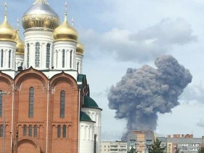 Вибух на складі боєприпасів в РФ: Постраждали близько 70 дитсадків і 31 школа
