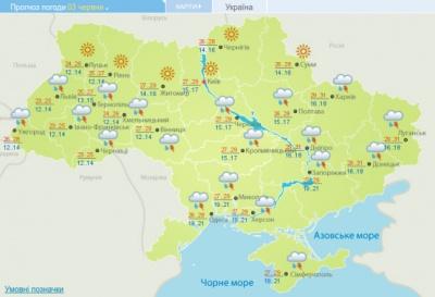 Синоптики розповіли, яка погода чекає на українців на початку червня