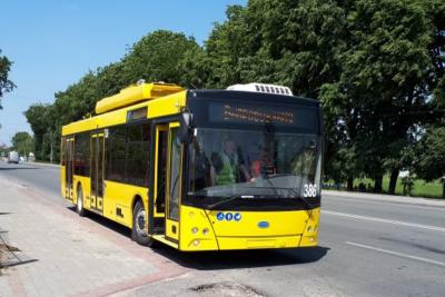 Завтра у Чернівцях почнуть курсувати тролейбуси №9