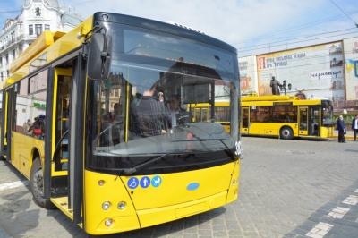 У ЧТУ хочуть закупити ще 100 тролейбусів до 2020 року