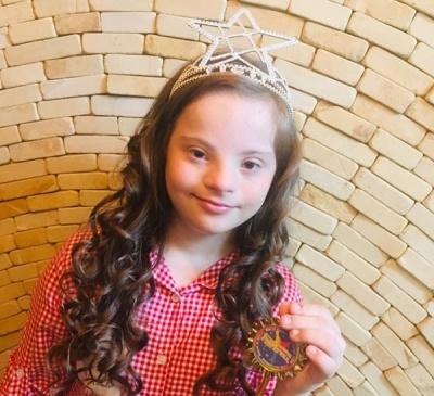 Дівчинка з синдромом Дауна виборола корону на конкурсі краси