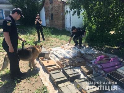 На Рівненщині виявили найбільший в Україні схрон боєприпасів