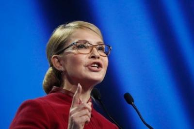 """Тимошенко хоче бачити у коаліції """"Батьківщину"""", """"Слугу народу"""" і """"Голос"""""""