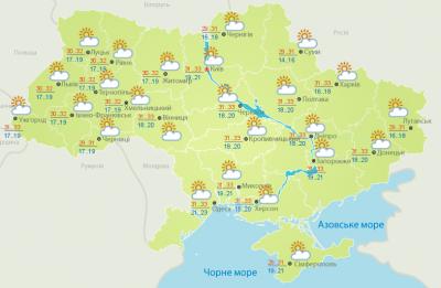 Погода на Буковині 14 червня
