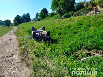 На Буковині перекинувся Range Rover, водій загинув на місці