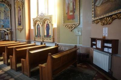 У Чернівцях у греко-католицькій церкві ввели самообслуговування