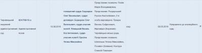 Суд у справі Каспрука: Чесанов сказав, коли розглянуть апеляцію, хоча суд не оголошував дату