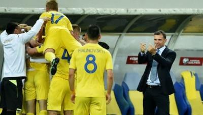Українська збірна покращила позицію у рейтингу ФІФА