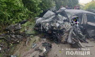 На Вінниччині у жахливому ДТП загинули 4 людини