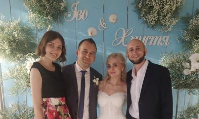 Письменниця Христя Венгринюк у Чернівцях вийшла заміж