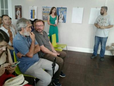 Вахтанг Кіпіані презентував у Чернівцях книгу про Василя Стуса – фото