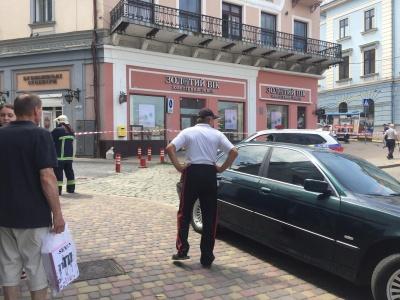 У Чернівцях перекрили пішохідну вулицю Кобилянської через підозрілий предмет – фото