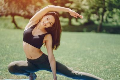 Йога для здоров'я і схуднення: вправи для початківців