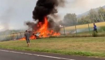 На Гавайях біля аеродрому впав літак: всі 9 пасажирів загинули - фото