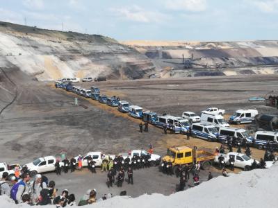 У Німеччині кліматичні активісти штурмували найбільший вугільний рудник