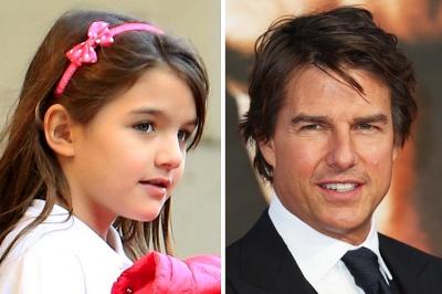 Том Круз не є біологічним батьком дочки Кеті Холмс