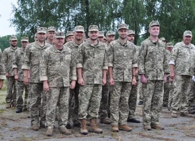 На Буковині завершились навчання резервістів підрозділів місцевої тероборони – фото