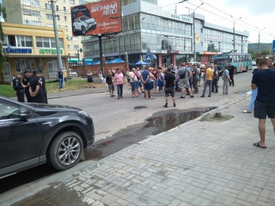 Каспрук закликав активістів розблокувати вулицю Хотинську