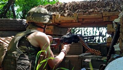 На Донбасі бойовики здійснили 44 обстріли. Поранено 2 військових