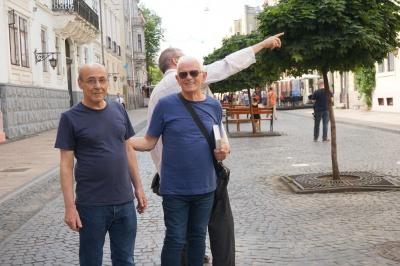 Син Пауля Целана приїхав до Чернівців – фото