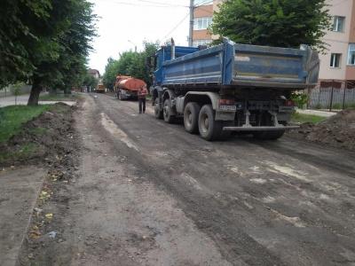 Самовільний ремонт дороги: що відбувається на вулиці Щербанюка – фото