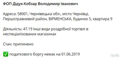 Кандидат у нардепи з Чернівців обдурив ЦВК, поліція відкрила провадження