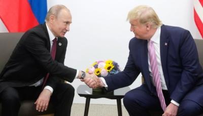 Під час зустрічі Трамп та Путін обговорили ситуацію в Україні