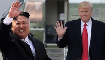 Трамп провів зустріч з лідером КНДР Кім Чен Ином