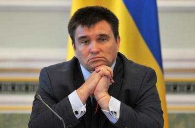 Клімкін заявив, що йде у «політичну відпустку»