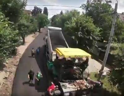 Блискавичний ремонт вулиці Щербанюка в Чернівцях показали у 2-хвилинному відео