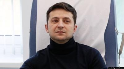 Зеленський висловився про мову та жителів окупованого Донбасу