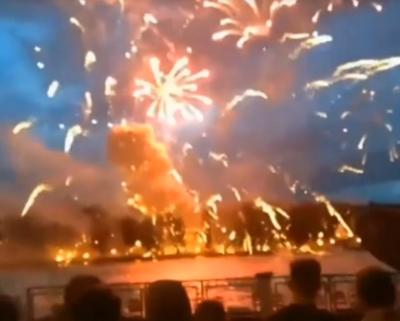 У Мінську під час салюту до Дня незалежності загинула жінка - відео