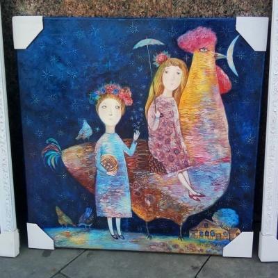 """Хендмейд-посуд, картини і """"сирні коники"""": що продають на Петрівському ярмарку в Чернівцях - фото"""