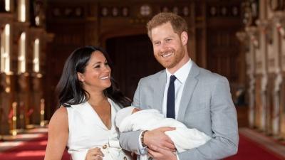 Принц Гаррі та Меган Маркл похрестили свого первістка