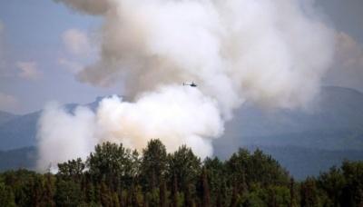 На Алясці через аномальну спеку горять ліси