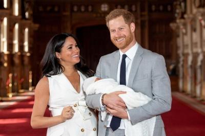 Принц Гаррі та Меган Маркл похрестили свого сина