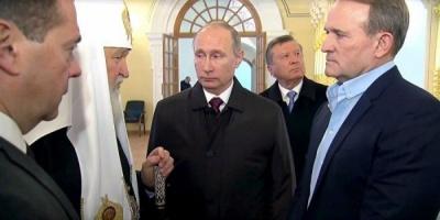 """Медведчук розповів про свої """"часті зустрічі"""" з Путіним"""