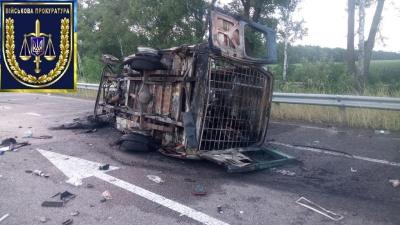 Під Києвом «Газель» з військовими потрапила у ДТП: двоє бійців загинули, семеро травмовані