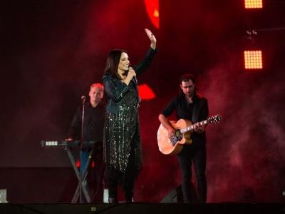 Софія Ротару повернулась в Україну: заспівала свої хіти на Atlas Weekend