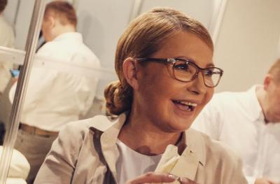 Тимошенко запостила в соцмережах «шаурдог»: сосиску, загорнуту в лаваш