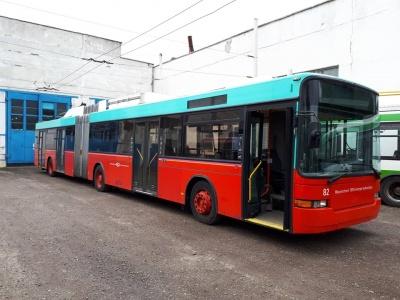 До Чернівців прибули чотири вживані тролейбуси зі Швейцарії