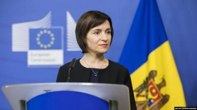 Прем'єрка Молдови говорила українською на брифінгу після зустрічі з Зеленським