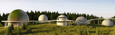 У куполах - кафе і хостел: як може виглядати радіолокаційна станція «Памір» після реконструкції