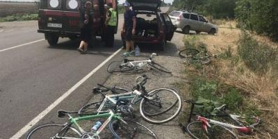 ВАЗ збив в групу дітей-велосипедистів, шестеро постраждалих