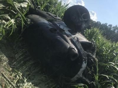 На Сумщині впав вертоліт, пілот загинув