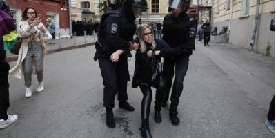 Поліція в Москві силою розганяє протестувальників акції за допуск опозиції на вибори, є травмовані