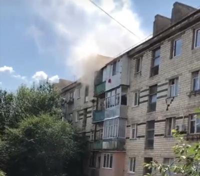 Вогонь під чайником перекинувся на меблі: у Чернівцях загорілась квартира у багатоповерхівці на проспекті