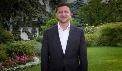 """""""Велкам ту Юкрейн"""": Зеленський записав відео до іноземних бізнесменів англійською мовою"""